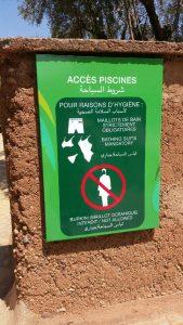 affiche burkini interdit au Maroc